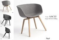 chair hay 3d model