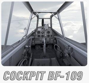 max bf-109 cockpit