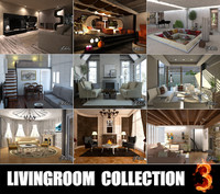 obj livingrooms scenes