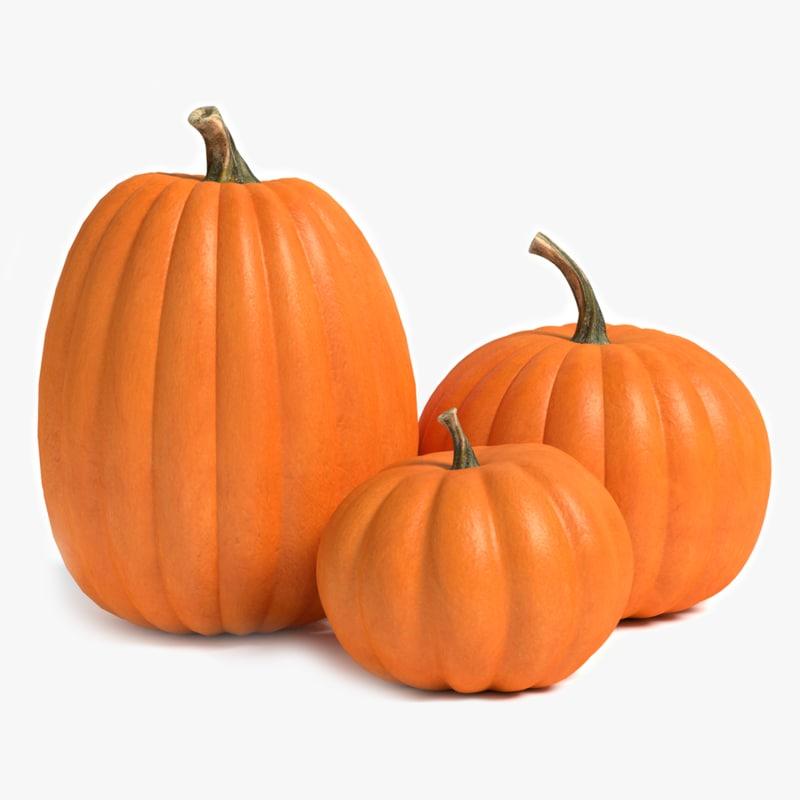 pumpkins 3d max
