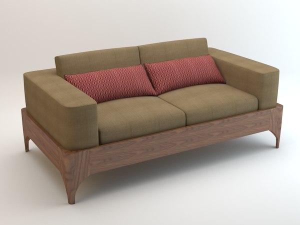 plateaux sofas 3d max
