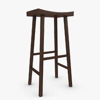 3d bar stool 02
