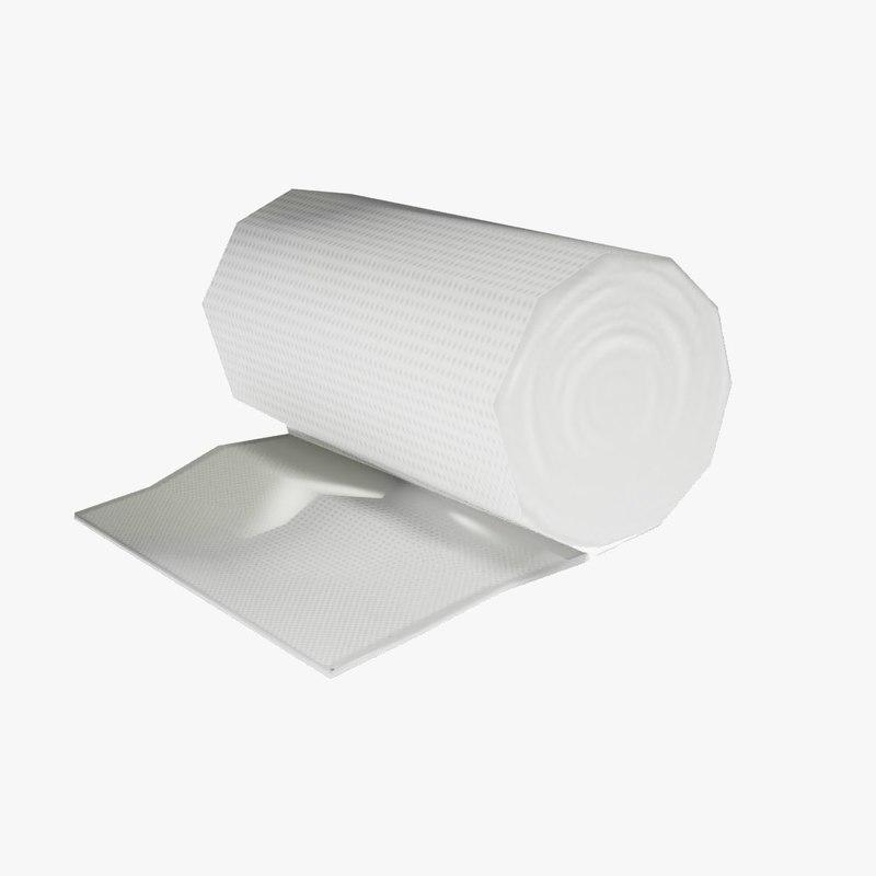 bandage roll 3d model