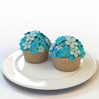 cupcake 37 3d model