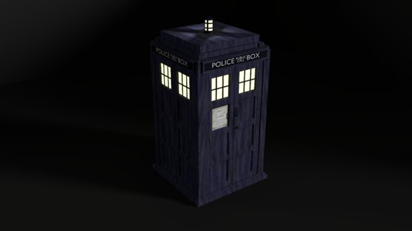 blender tardis doctor