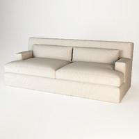 Meridiani Bogard Slim Sofa
