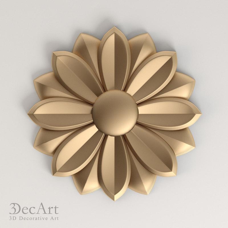 carved rosette cnc max