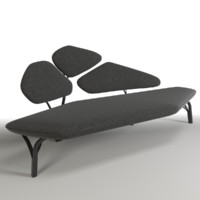 borghese sofa couch 3d max