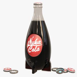 nuka-cola drink 3d max