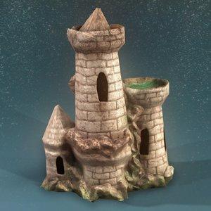 aquarium castle 3ds