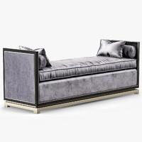 3d model chaise orsi bronze