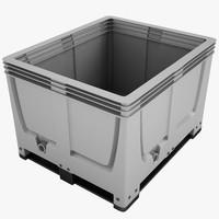 Plastic Crate 01