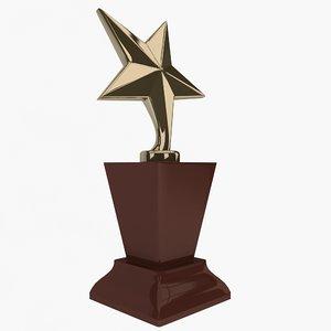 3dsmax trophy