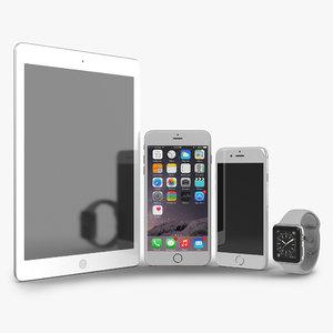 3d apple electronics iphone 6