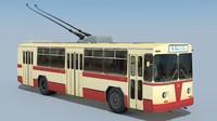 Trolleybus ZiU-682B (1972)