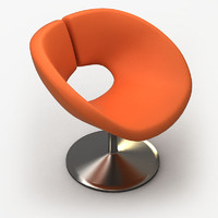 3d contemporary chair