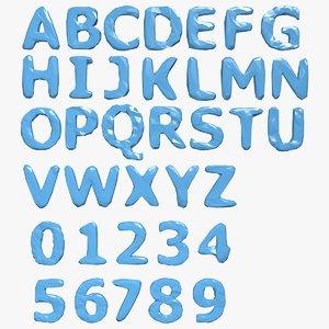 obj alphabet b
