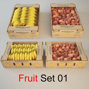 3ds max fruit set 01
