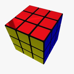 rubik s cube 3ds