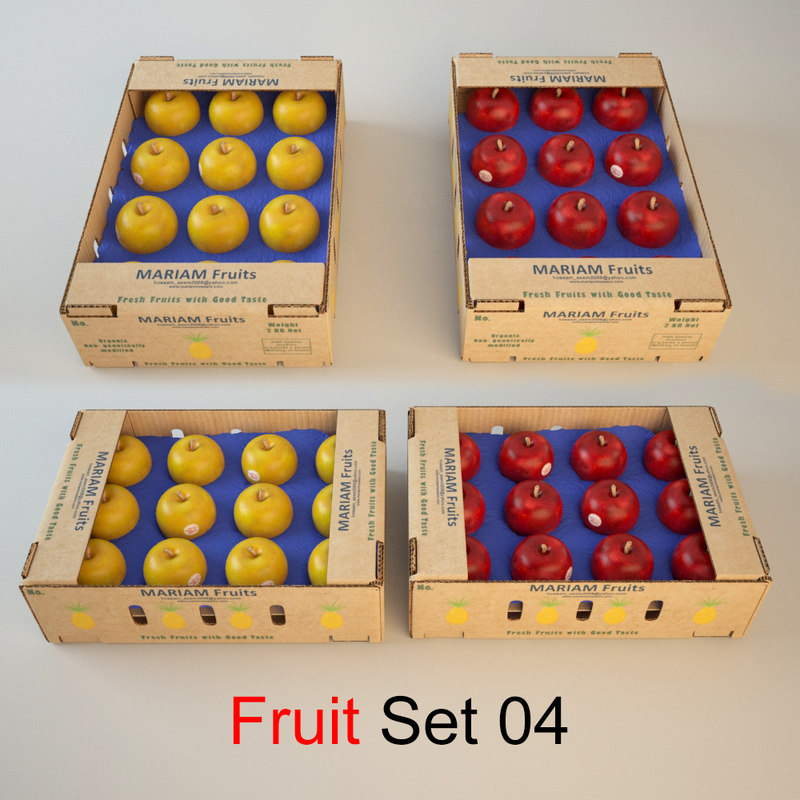 fruit set 04 max