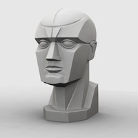 maya planar head