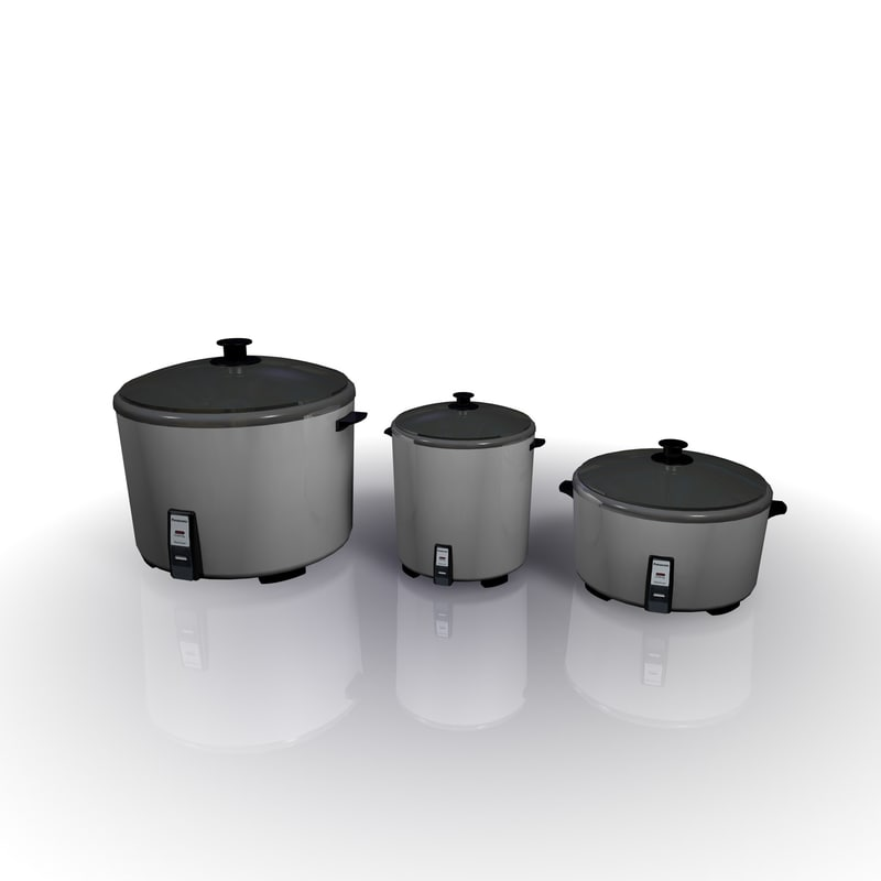 3d model rice cookers