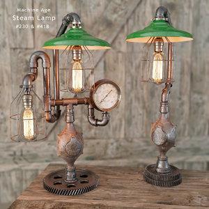 steam lamp 230 max