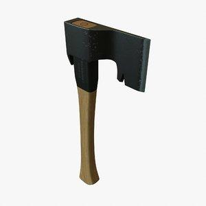 free carpenter axe 3d model
