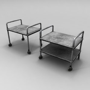 medical lab table 3d max