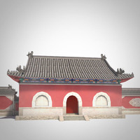 Shanmen Temple Gate Asia