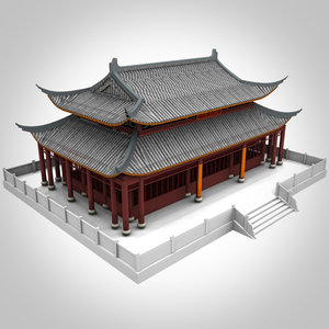 3d chinese imperial