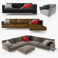 Moroso Gentry Sofa Collection