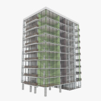 Zwesh Tower one with interior textured