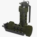 M84 Stun Grenade 3D models