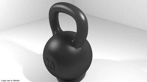 exercise kettlebell equipment 3ds