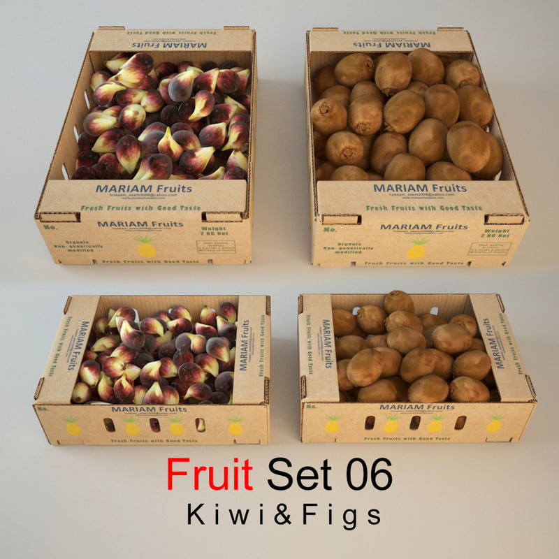 fruit set 06 3d max