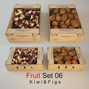 fruit set 06 3d max
