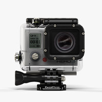 GoPro Hero3 action camera with Waterhousing