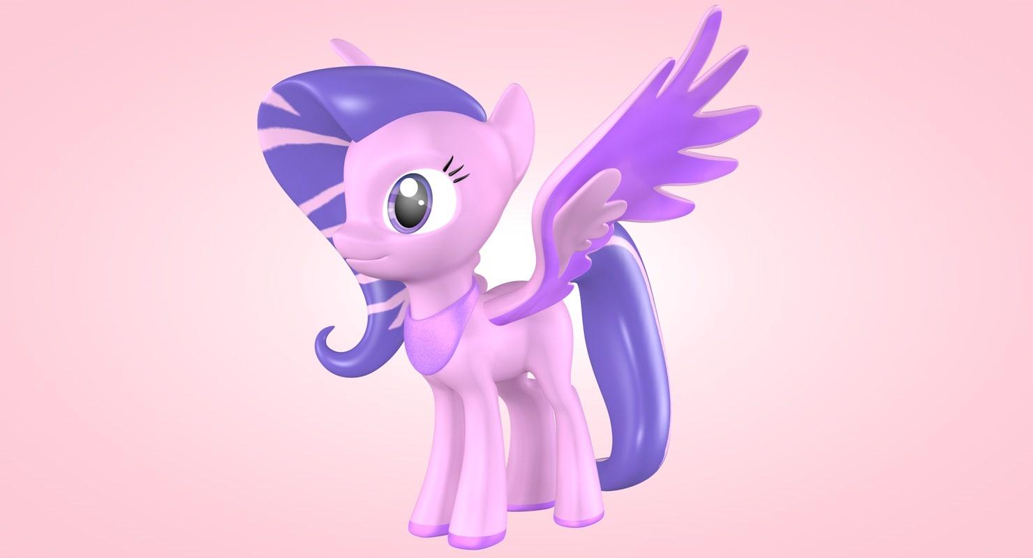 little pony 3d model