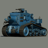max cartoon tank