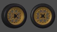 Work Equip Rim + Tyre