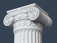 capital column obj