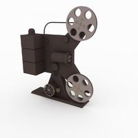 3dsmax film projector