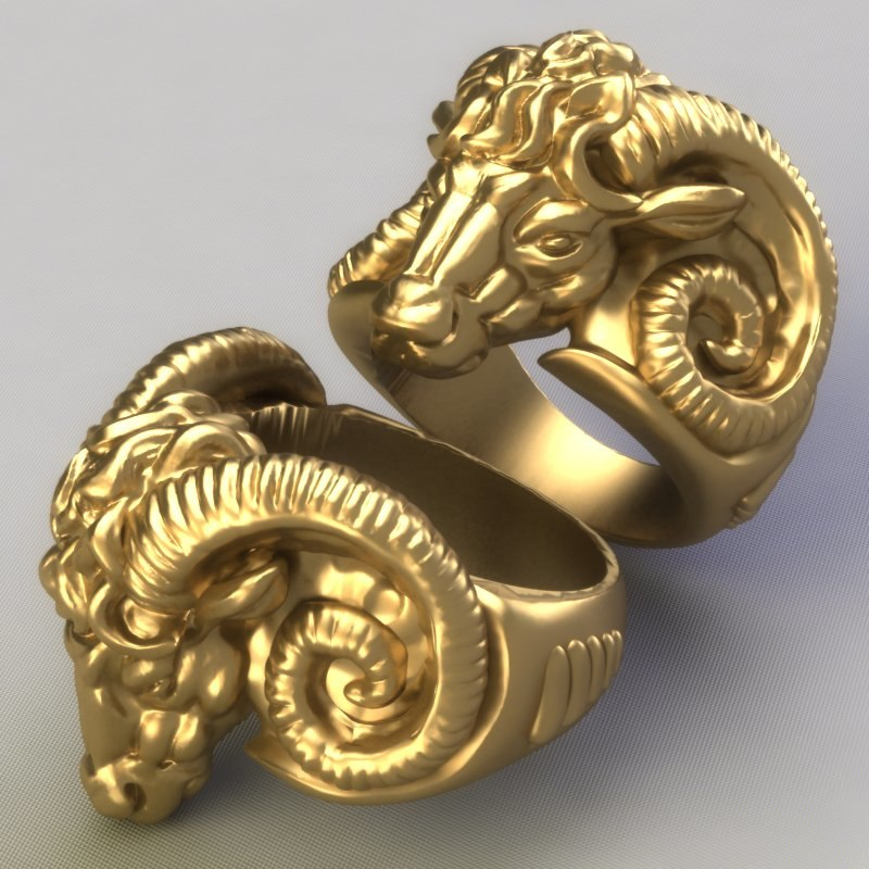 ring jewelry gem 3d model