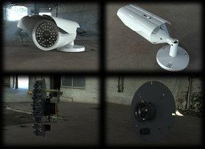 3d model cctv camera