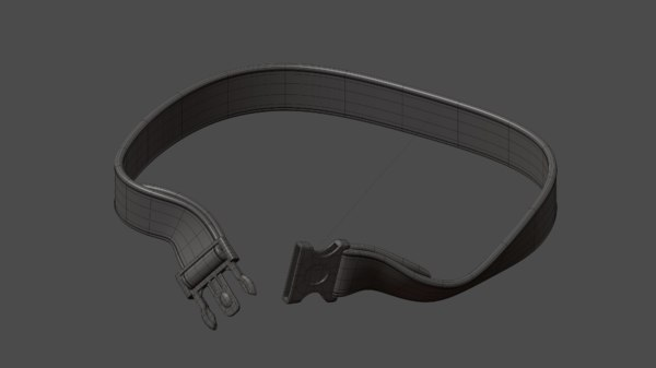 tactical belt 3d 3ds