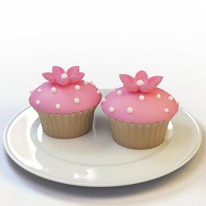 cupcake 39 3d max