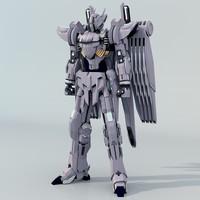 free mobile suit 3d model