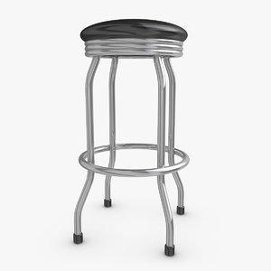bar stool 05 3d 3ds