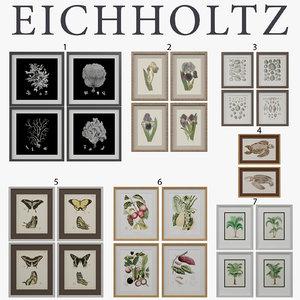 3d model eichholtz prints